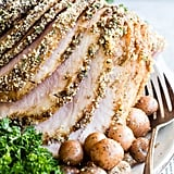 Baked Ham With Crumb Topping