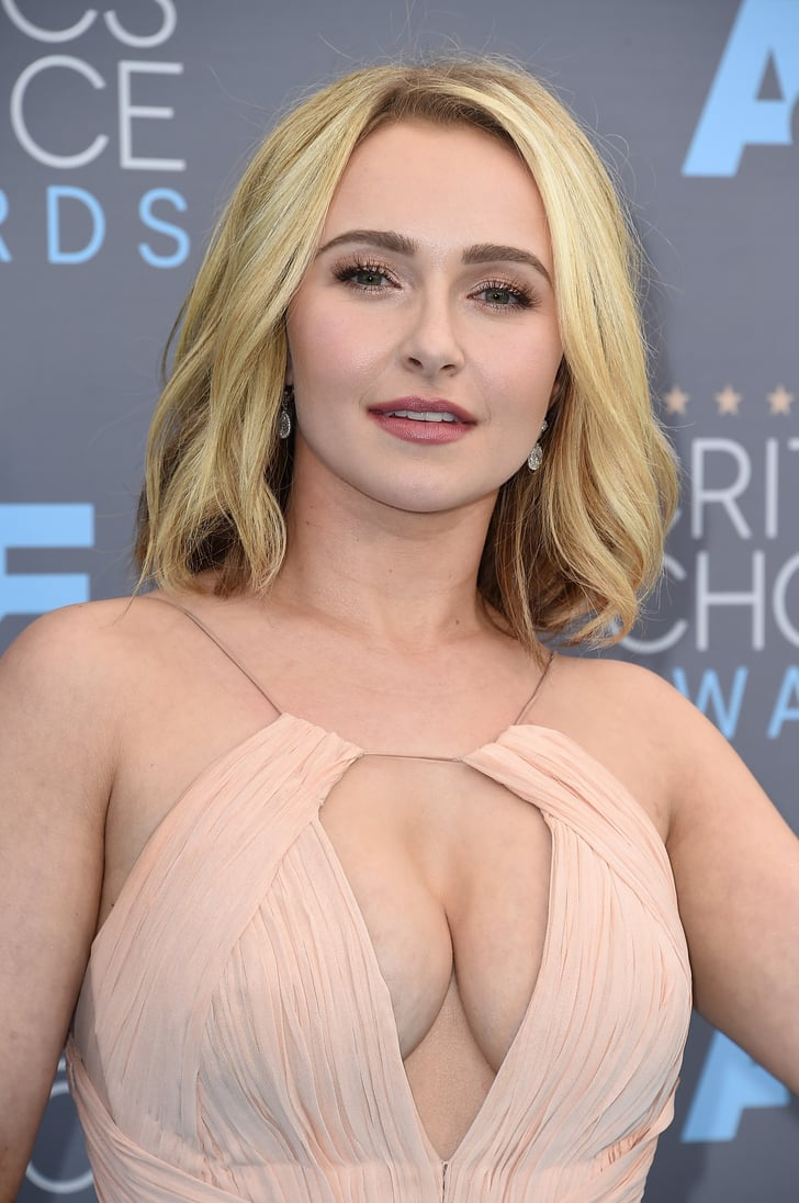 Hayden Panettiere Hair At The 2016 Critics Choice Awards