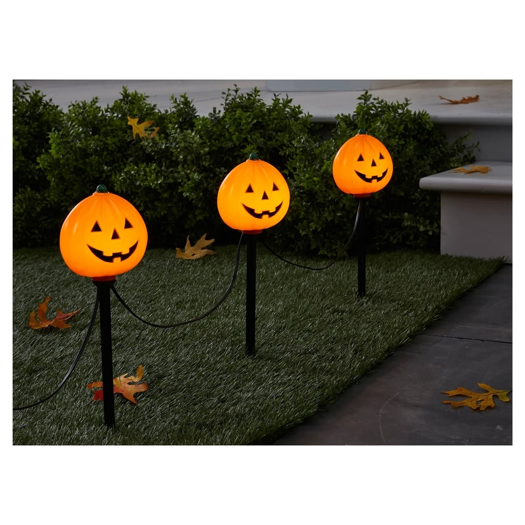 Pumpkin Halloween Path Lights