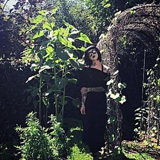Kat Von D's Black Flower Garden