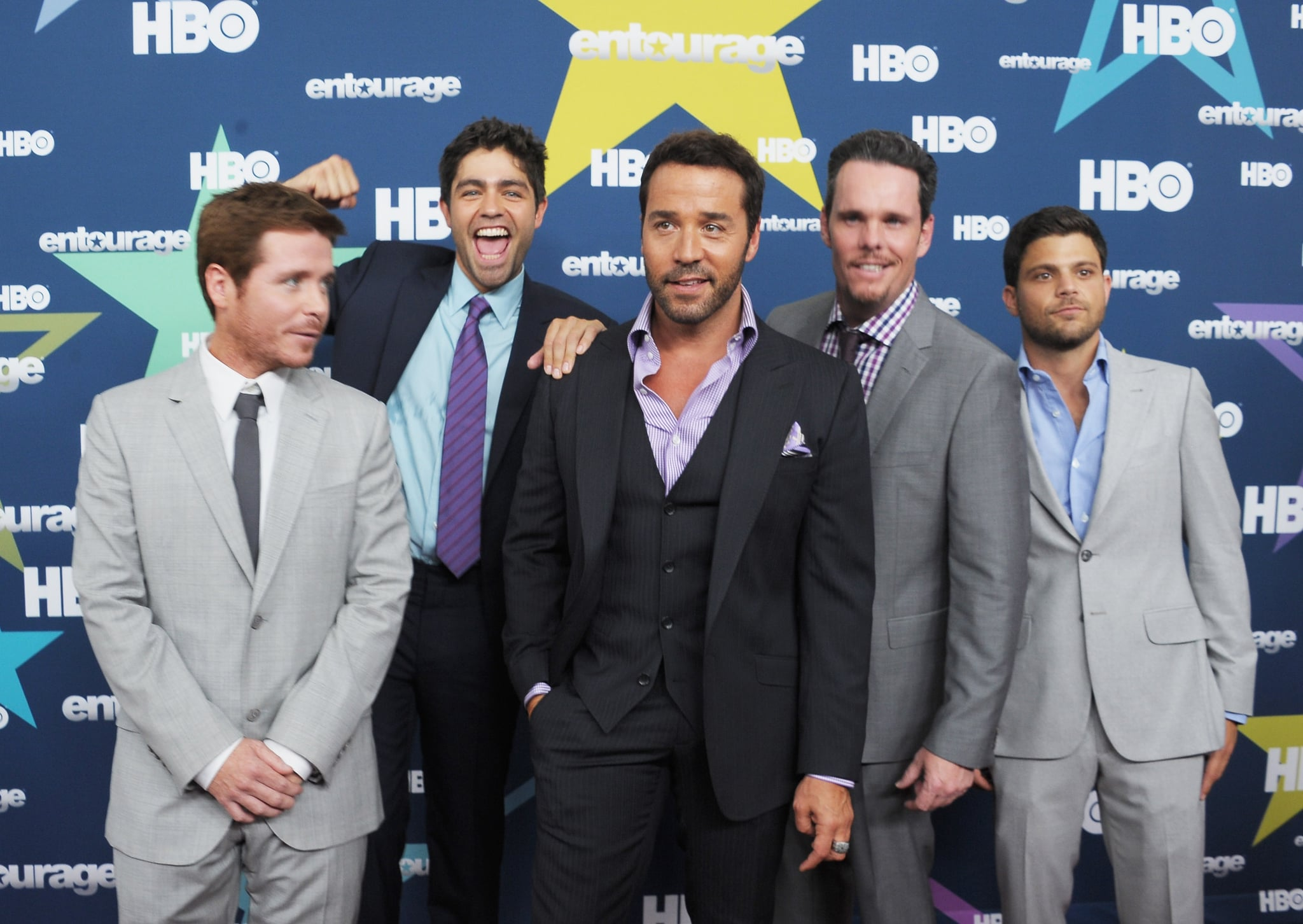 """Mark Wahlberg and the Entourage Guys Premiere Their Final and """"Best Season Yet"""" in NYC"""