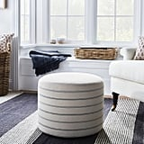 Lynwood Upholstered Round Cube