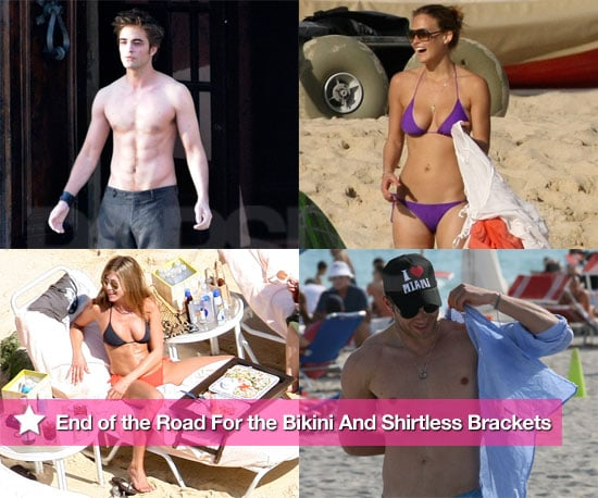 Shirtless and Bikini Celebrity Photos Bar Refaeli, Jennifer Aniston, Jessica Alba, Sienna Miller, Shirtless Robert Pattinson