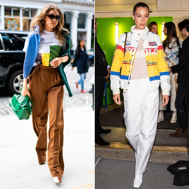 Gigi and Bella Hadid Wear Wandler Boots During Fashion Week