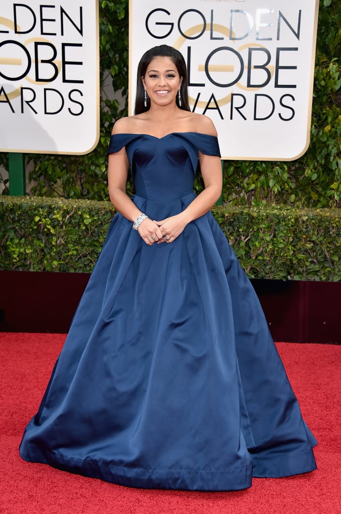 Gina Rodriguez At The 2016 Golden Globes Pictures