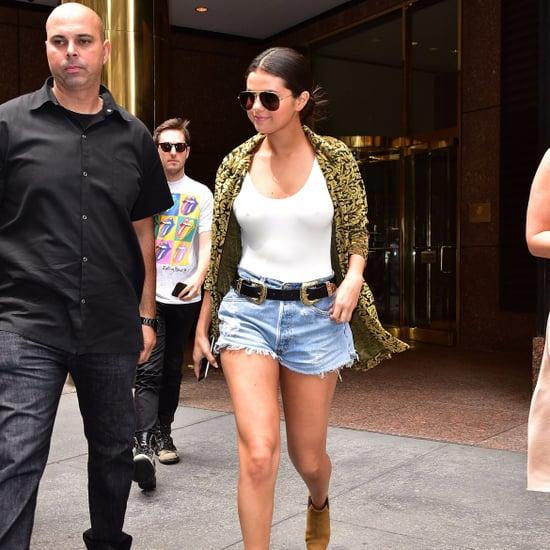 Selena Gomez Sexy Casual Looks
