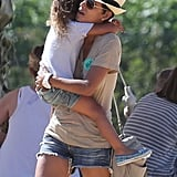 Nahla Aubrey got a lift from Halle Berry.
