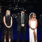 Luke Bryan, Miranda Lambert, Jason Aldean, Maren Morris, and Thomas Rhett. Related: The ACM Awards Didn't Open With a Performance For an Incredibly Touching Reason