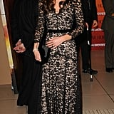 Kate supersized the glamour and wore her Temperley version to the War Horse premiere in January 2012.