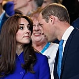 """William: """"You know we have to stay here another hour, right?"""""""