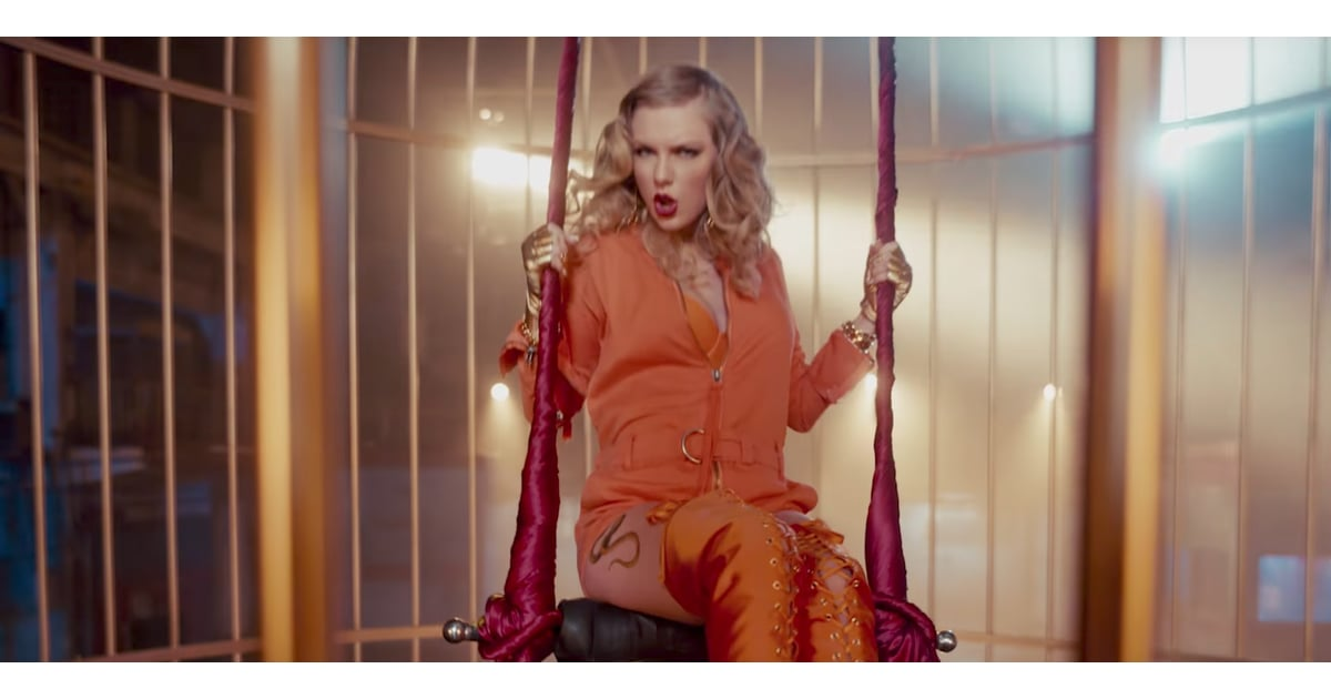 Swing Set Taylor Swift | Taylor Swift Look What You Made Me Do Video