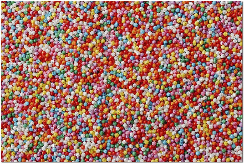 Multicolored Candy Drops Premium 1000-Piece Jigsaw Puzzle
