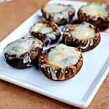 Mushroom Cap Pizza Bites