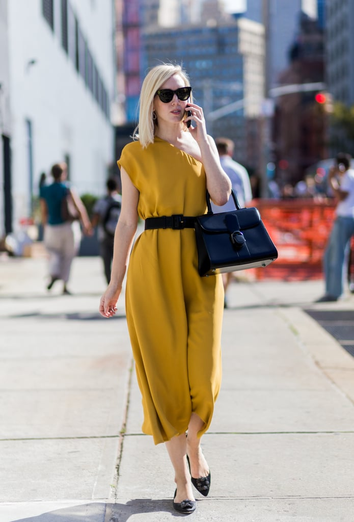 Baby It S Cold Outside Shift Dress: A Bright Shift Dress Cinched With A Belt Is Every Working