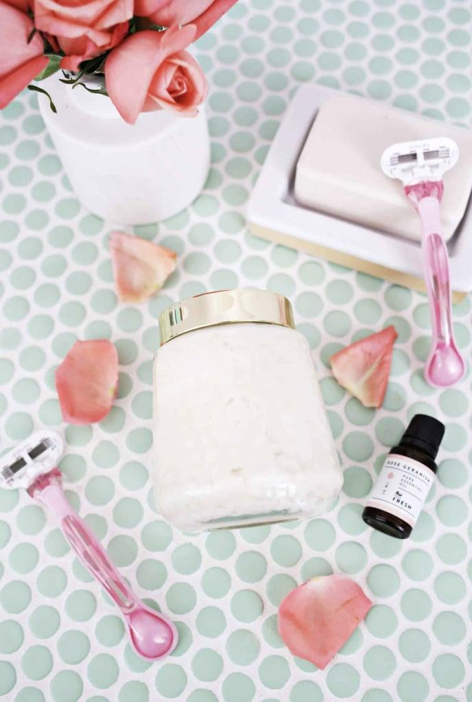 Whipped Rose Geranium Shaving Cream