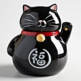 Black Lucky Cat Cookie Jar ($15)