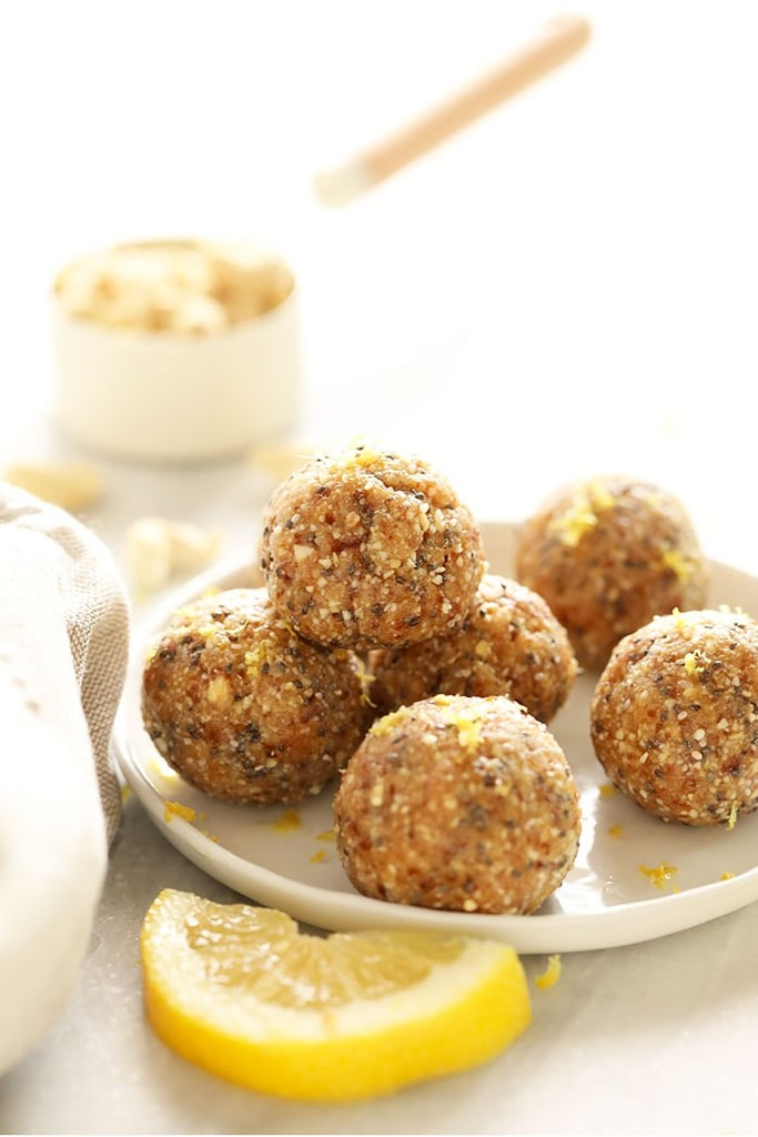 Lemon Cake Energy Balls
