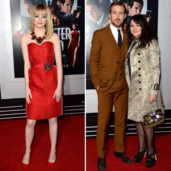 Emma Stone and Ryan Gosling at Gangster Squad LA Premiere