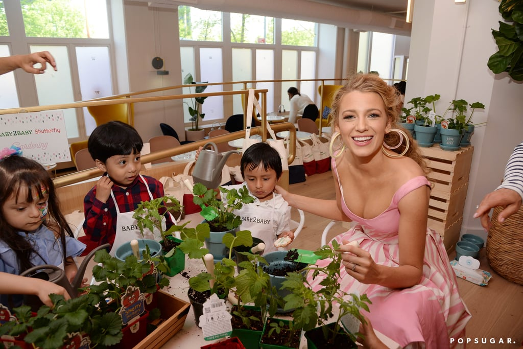 "Just days after shutting down the Met Gala, Blake Lively hosted Shutterfly's Baby2Baby Mother's Day celebration in NYC on Thursday. The charity provides low-income families with basic necessities like clothing and diapers, and Blake channeled her inner Disney princess for the event. The mother of two looked pretty in pink as she read books to the kids and did some arts and crafts activities.  During the event, Blake also opened up about her own children, daughters James, 3, and Ines, 1. ""I always want to make sure they're present and they're appreciative,"" Blake told Vogue. ""In order to be appreciative [of] what you have, you have to realize that it isn't a given. We talk about how we're very lucky, and even though we work hard, we need to be thankful. I don't know if I'm doing it right, I'm sure I'll take plenty of missteps, but I think it's about being aware and being present."" Well said, Blake.       Related:                                                                                                           Blake Lively Kindly Told Met Gala Photographers to ""Calm Down"" — but Sorry Girl, Not Possible"
