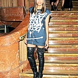 Ciara wore thigh-high boots. Source: Jason Merritt/BFAnyc.com