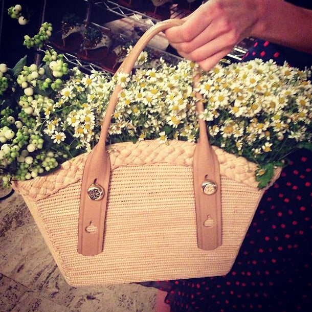Tory Burch made us all want to be flower girls. Source: Instagram user whowhatwear