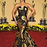 Beyonce at the 2009 Academy Awards