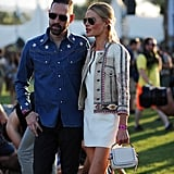 Michael Polish and Kate Bosworth Are on the Same Page When It Comes to Festival Style
