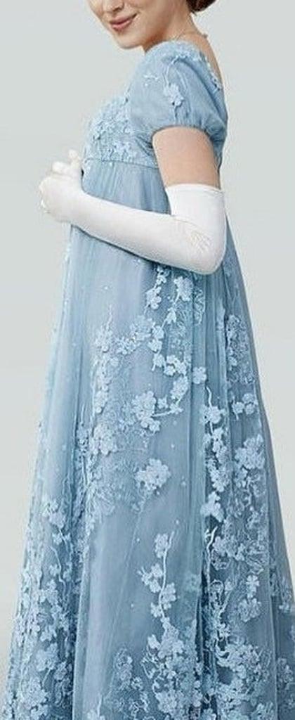 Regency Bridgerton Evening Gown