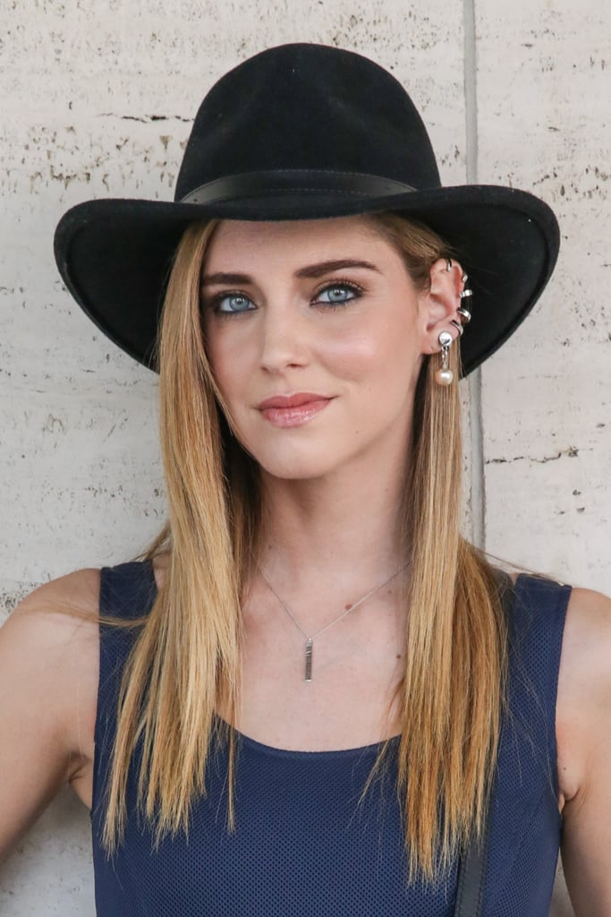 When in doubt, make like Chiara Ferragni and opt for sleek, slick strands.
