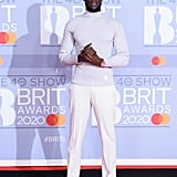 Stormzy at the 2020 BRIT Awards Red Carpet