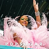 Rihanna absolutely stunned at Crop Over Carnival in Barbados.