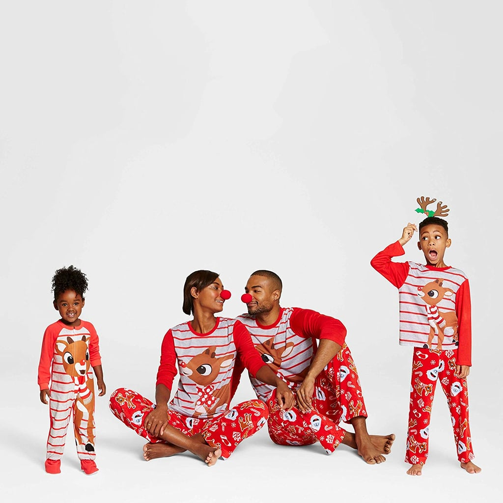 Rudolph Reindeer Holiday Family Pajamas