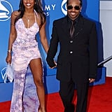 Nicole Rain and Jermaine Dupri, 2002