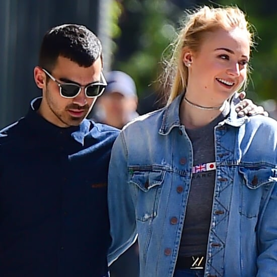 Joe Jonas Forearm Tattoo of Sophie Turner