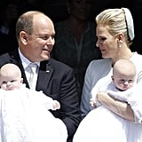 The Royal Twins of Monaco Are Baptized | Pictures