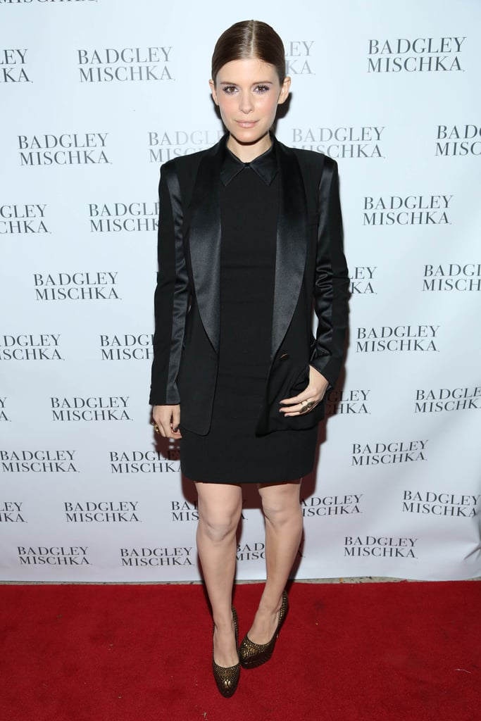Also at the badgley mischka store opening kate mara stuck for Badgley mischka store nyc