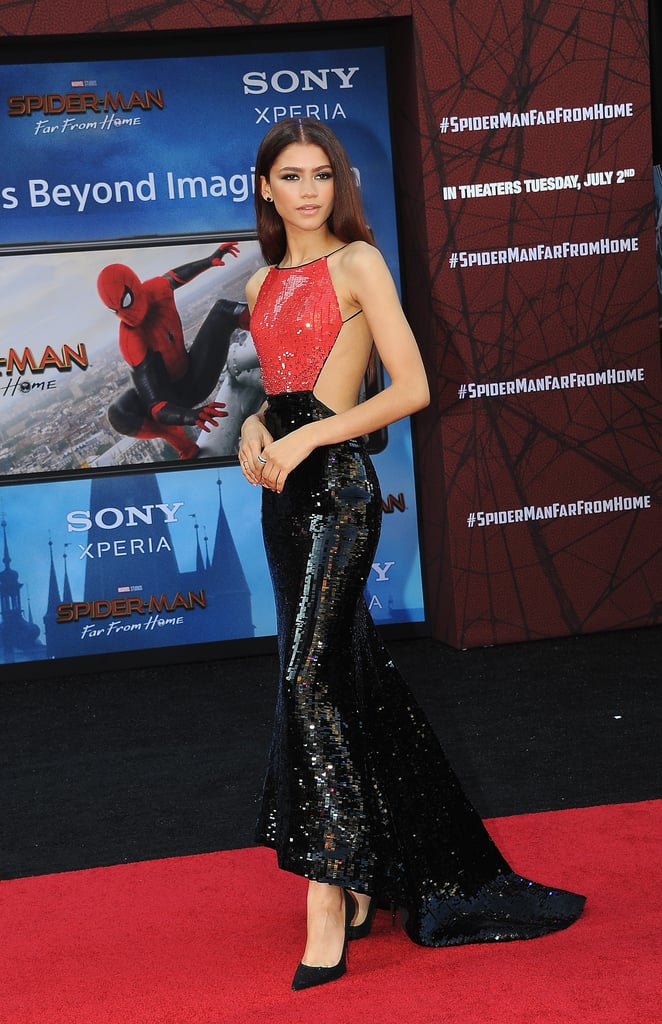 Zendaya's Armani Prive Dress at the Spider-Man Premiere