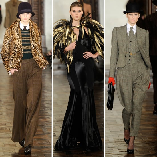 Review and Pictures of Ralph Lauren 2012 Fall New York Fashion Week Runway Show