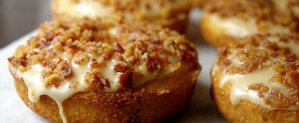 Cheddar-Onion Doughnuts With Maple and Bacon Are SO Good