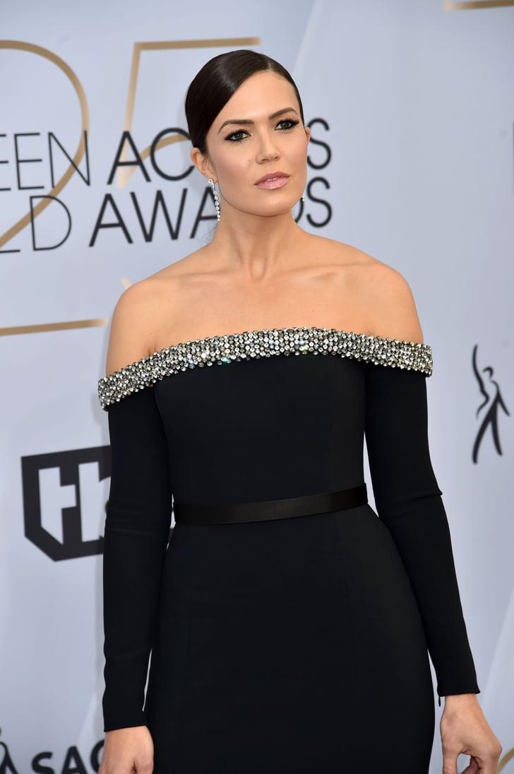 Mandy Moore S Dress At The Sag Awards 2019 Popsugar