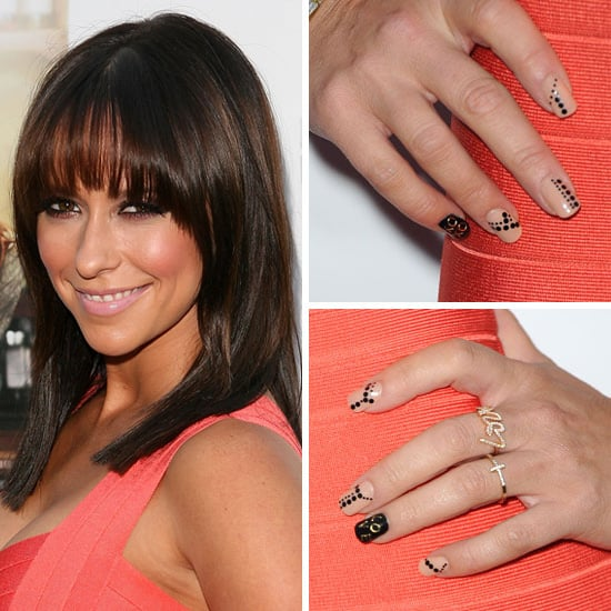 PHOTOS: Jennifer Love Hewitt's Dotted Nail Art at the Cafe Premiere