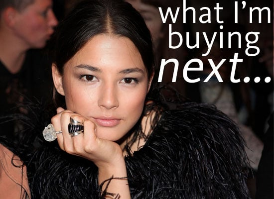 What Model and Vogue Fashion's Night Out Ambassador Jessica Gomes is Buying Next: Mulberry Bags, Bedlinens and Slipper Flats!