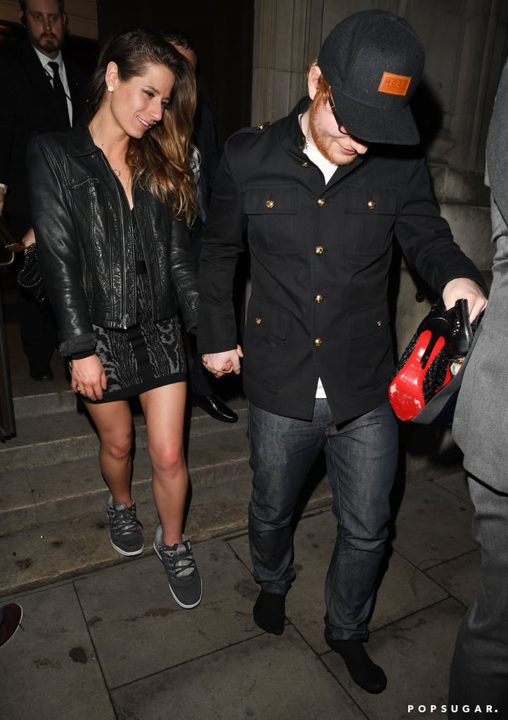 When Ed Lent Cherry His Shoes After Her Heel Broke