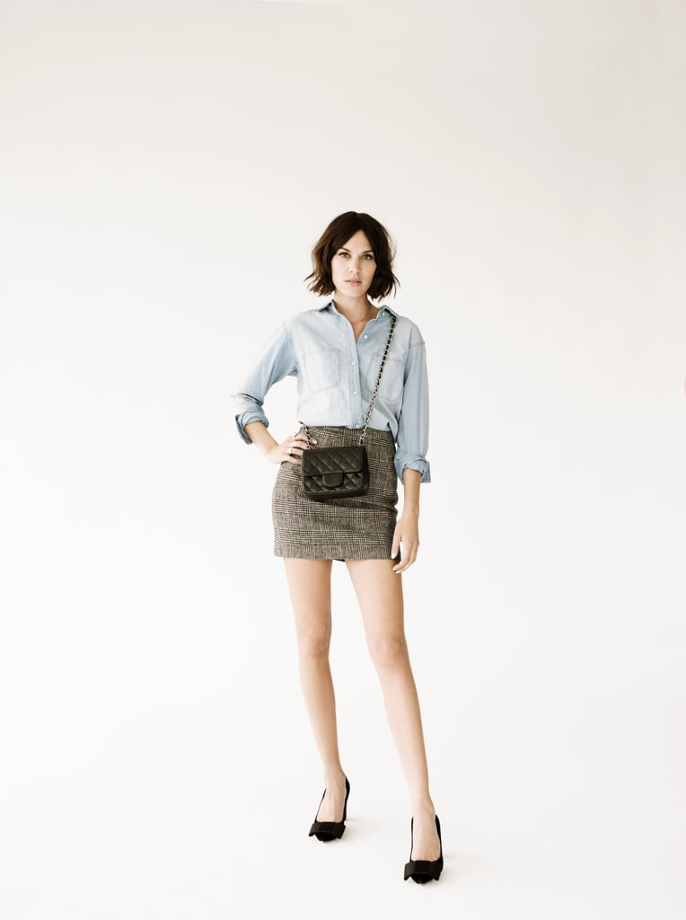 Alexa Chung to Confirm Second Collaboration With Madewell on 3/15/11
