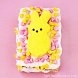 Peeps-Stuffed Rice Krispies Treats