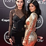 Kendall and Kylie Jenner at the ESPYs 2015