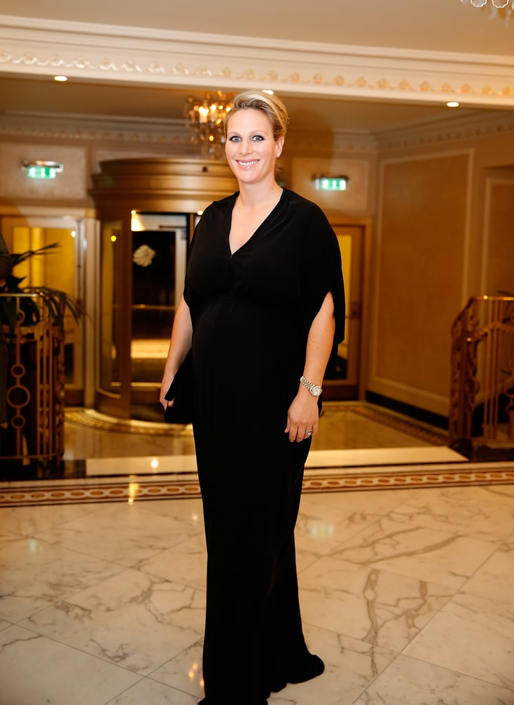 Zara's Maternity Style Included Glamorous Gowns