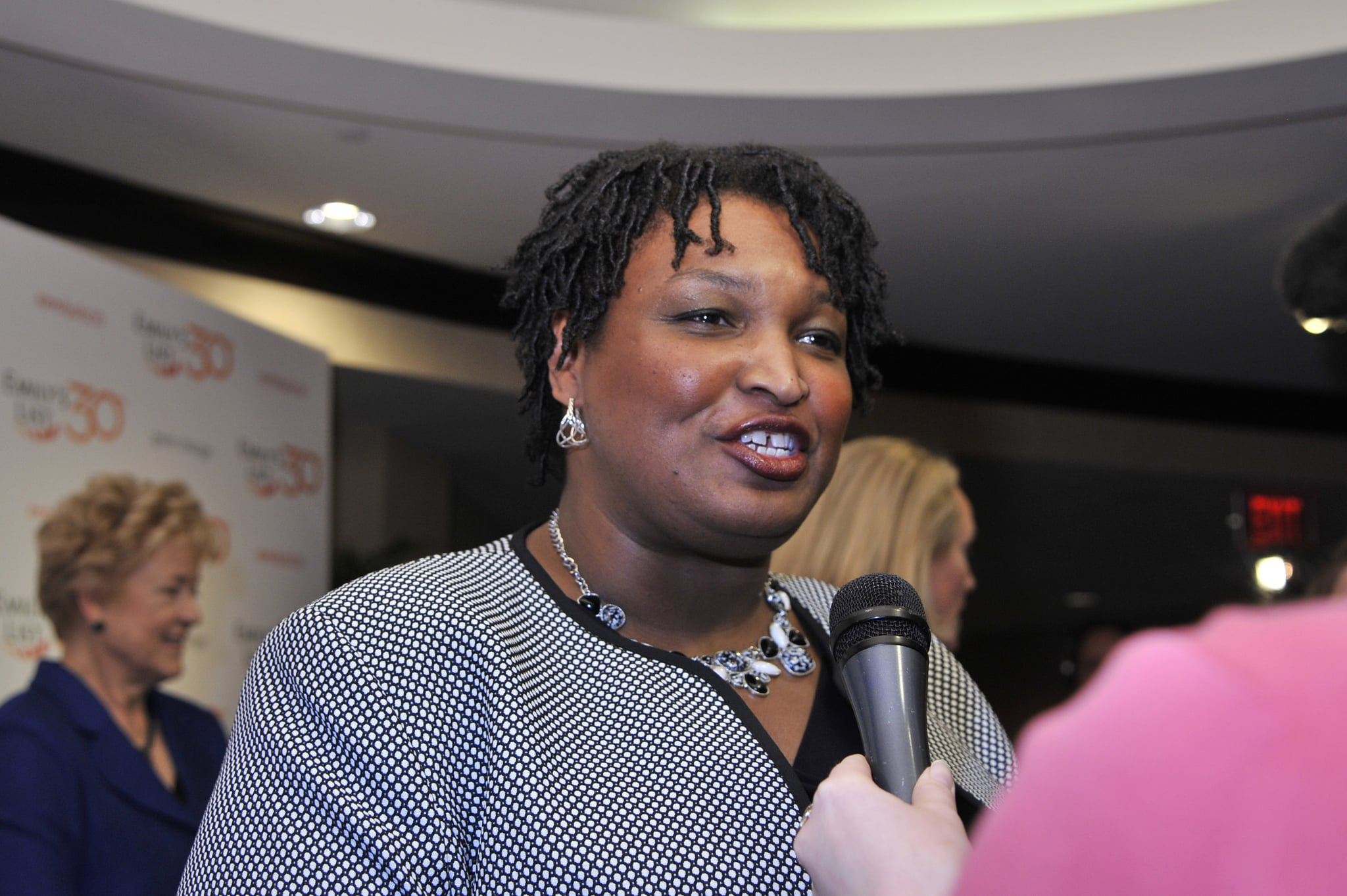 WASHINGTON, DC - MARCH 03:  Georgia House Minority Leader Stacey Abrams attends EMILY's List 30th Anniversary Gala at Washington Hilton on March 3, 2015 in Washington, DC.  (Photo by Kris Connor/Getty Images for EMILY's List)