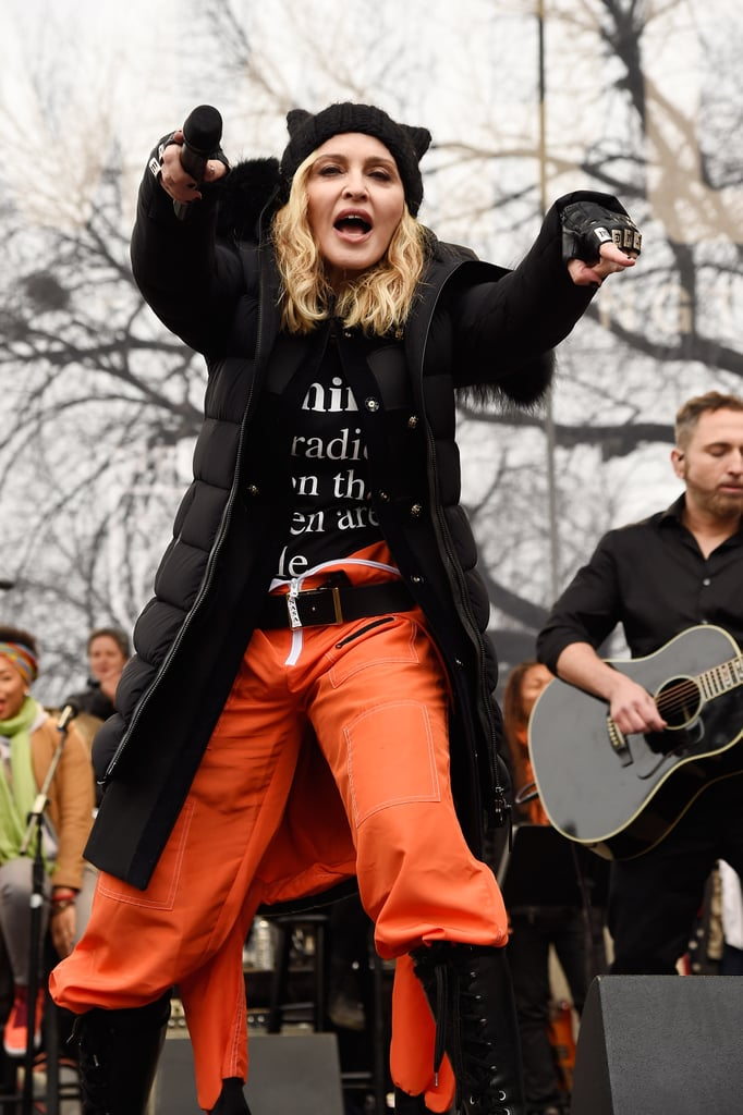 Pictured: Madonna