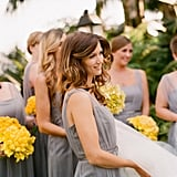 5 Bridal Party Gift Ideas From planning parties to buying gifts, your bridal party invests a lot of time, energy, and money to prepare for your wedding, so a nice way to thank them is with a small gift. You don't have to spend a ton of money — it just needs to be something meaningful, which shows you appreciate these lovely ladies and are happy they're involved in this special day. Here are five great bridal gift ideas. Photo by Elizabeth Messina via Style Me Pretty